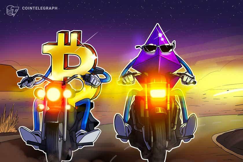 Ethereum -øyne samler seg mot Bitcoin, med ETH -pris som viser skjult bullish divergens